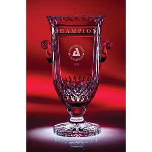 "10"" Curator Cup Crystal Trophy"